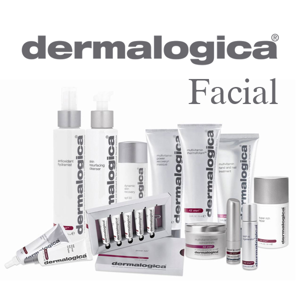Facial spa menu dermalogica